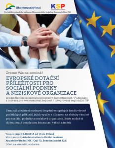 Pozvanka na seminar SP 20151006